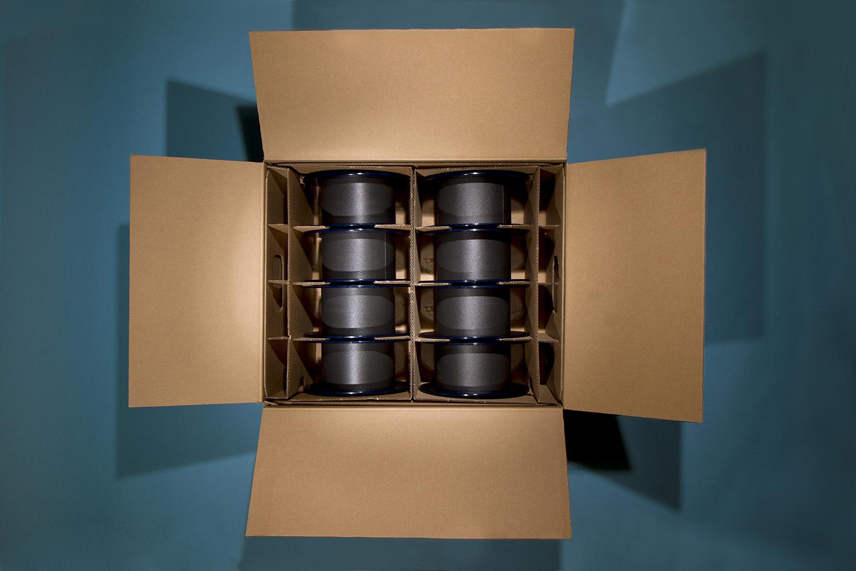 Vakverdeling voor kartonnen transportverpakking