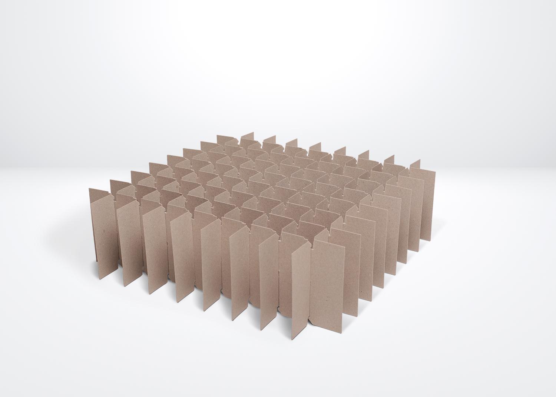 Vakverdeling massief karton