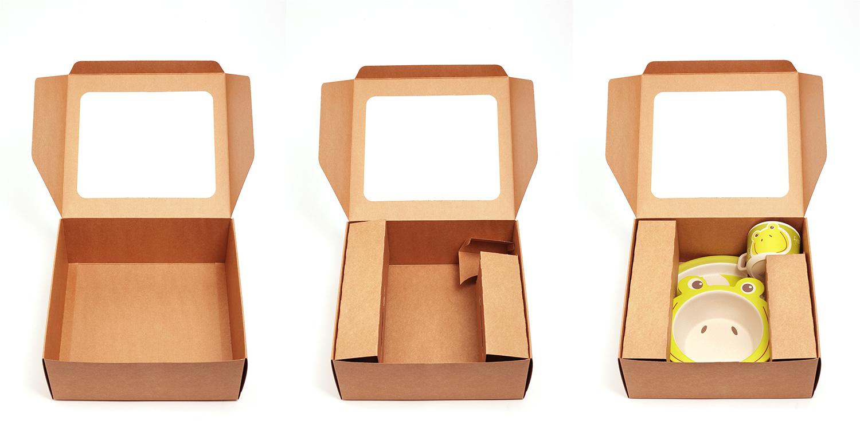 Yuunaa presentatieverpakking karton 100% duurzaam milieubewust