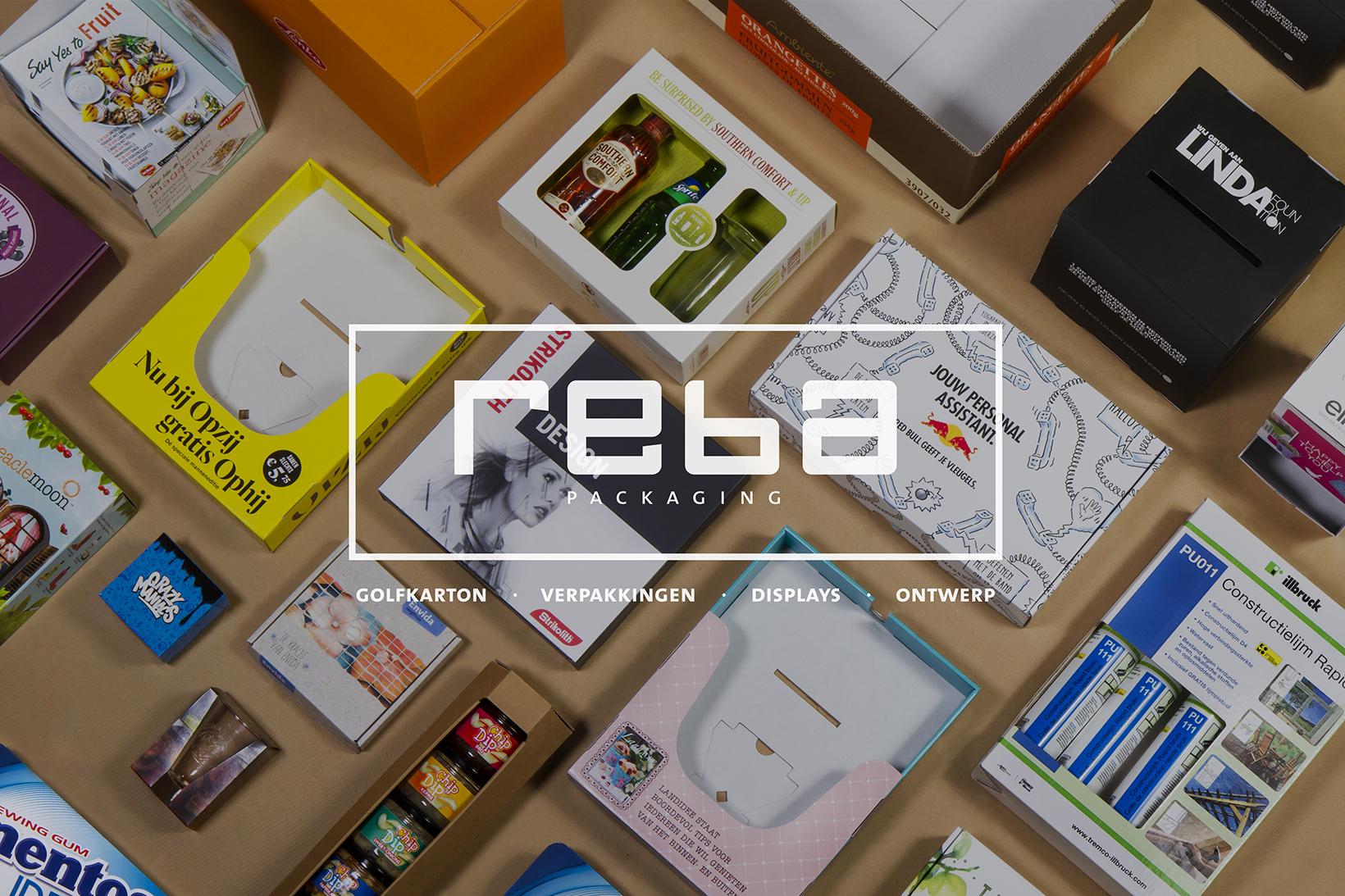 Reba Packaging voor uw gepersonaliseerde golfkarton verpakkingen